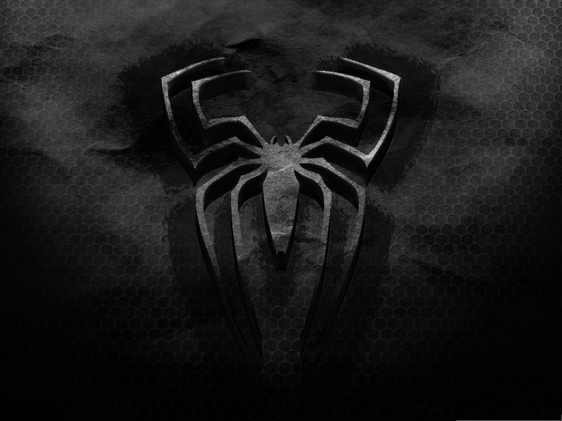 black spiderman hd wallpaper for android