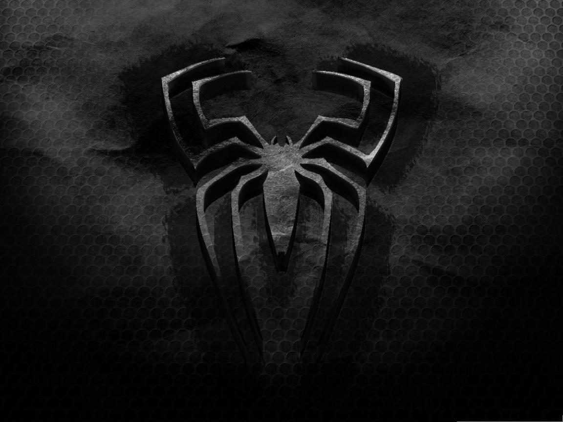 Black spiderman logo - photo#13