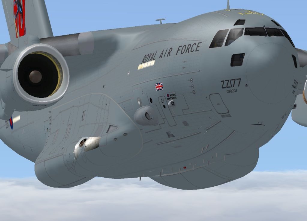 click to free download the wallpaper--Air Shows Screenshots, RAF Boeing C-17