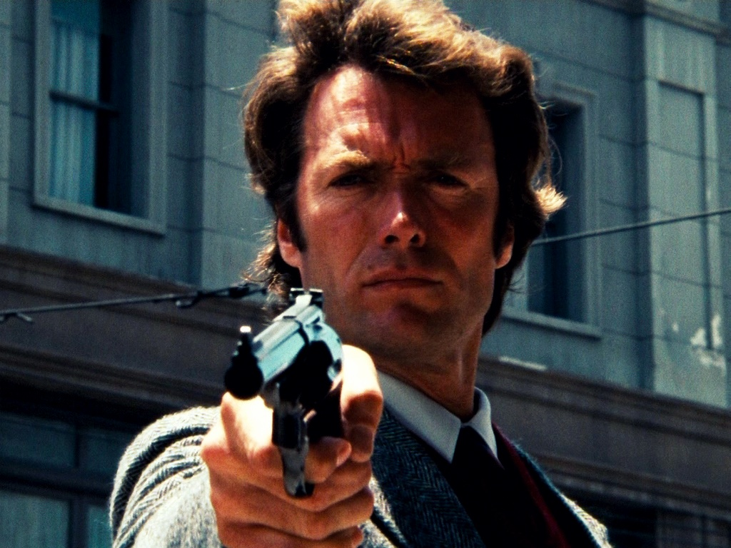 click to free download the wallpaper--Amazing TV Shows Pic, Dirty Harry, Handsome Guy in a Gun, Shall Strike a Deep Impression 1024X768 free wallpaper download