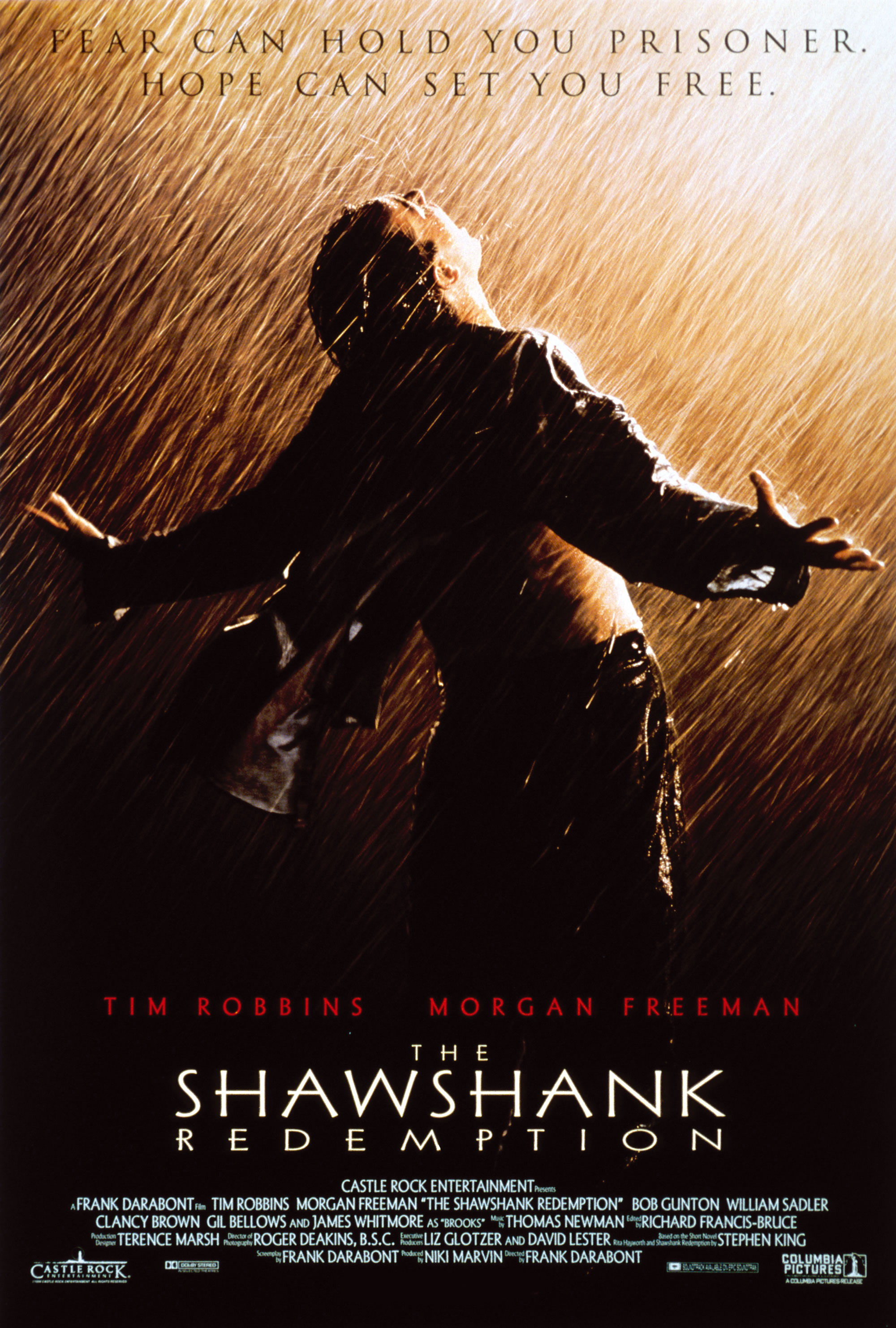 click to free download the wallpaper--Best Movie Recommendation, the Shawshank Redemption, Cheer and Applause for Him, the Hero!