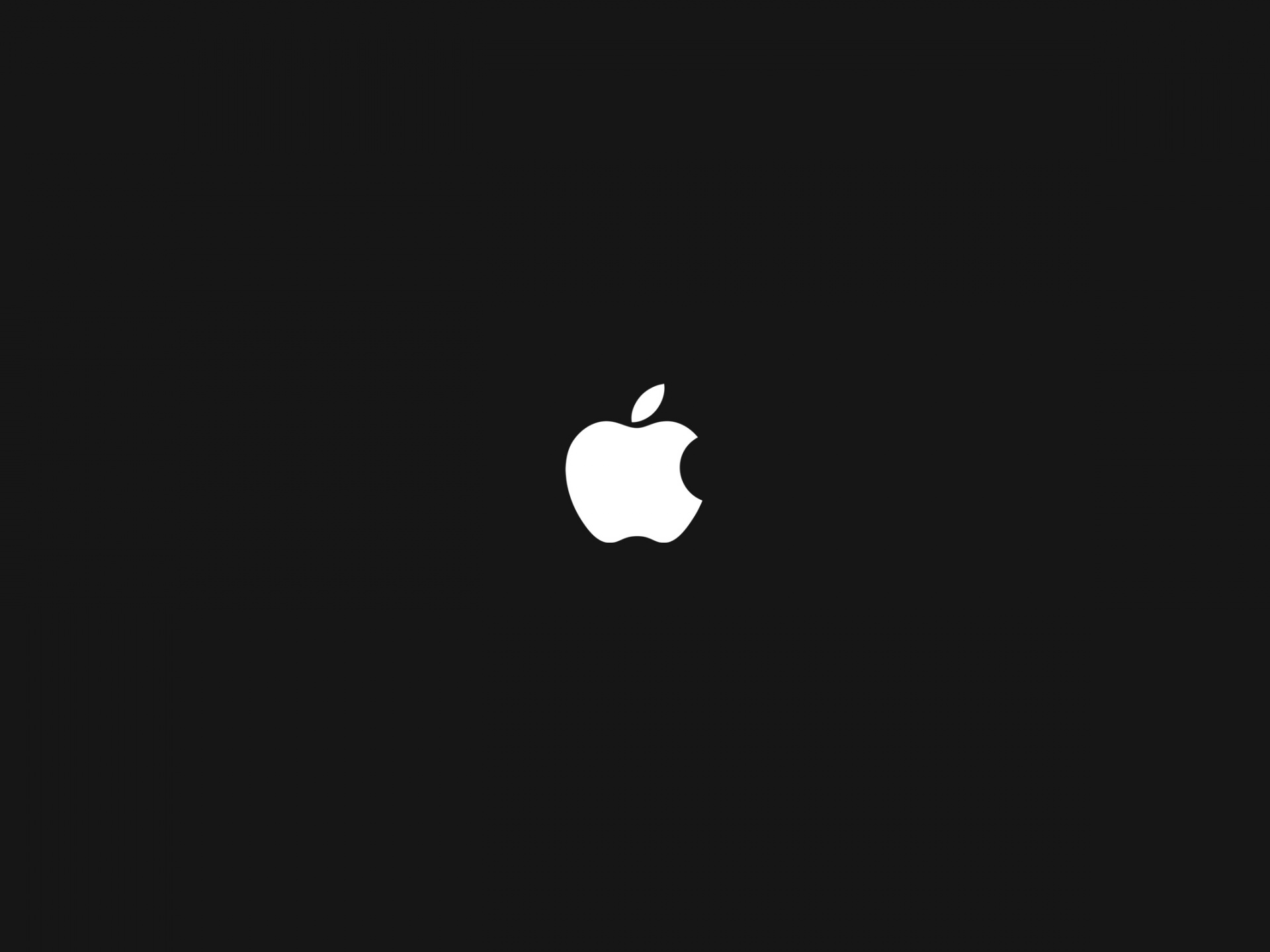 Brandy Logo Photos, White Apple Logo on Black Background, is an Impressive Item 1920X1440 free wallpaper download
