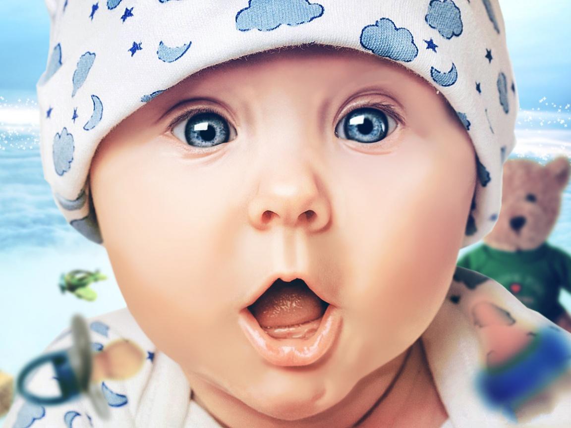 baby facial #9