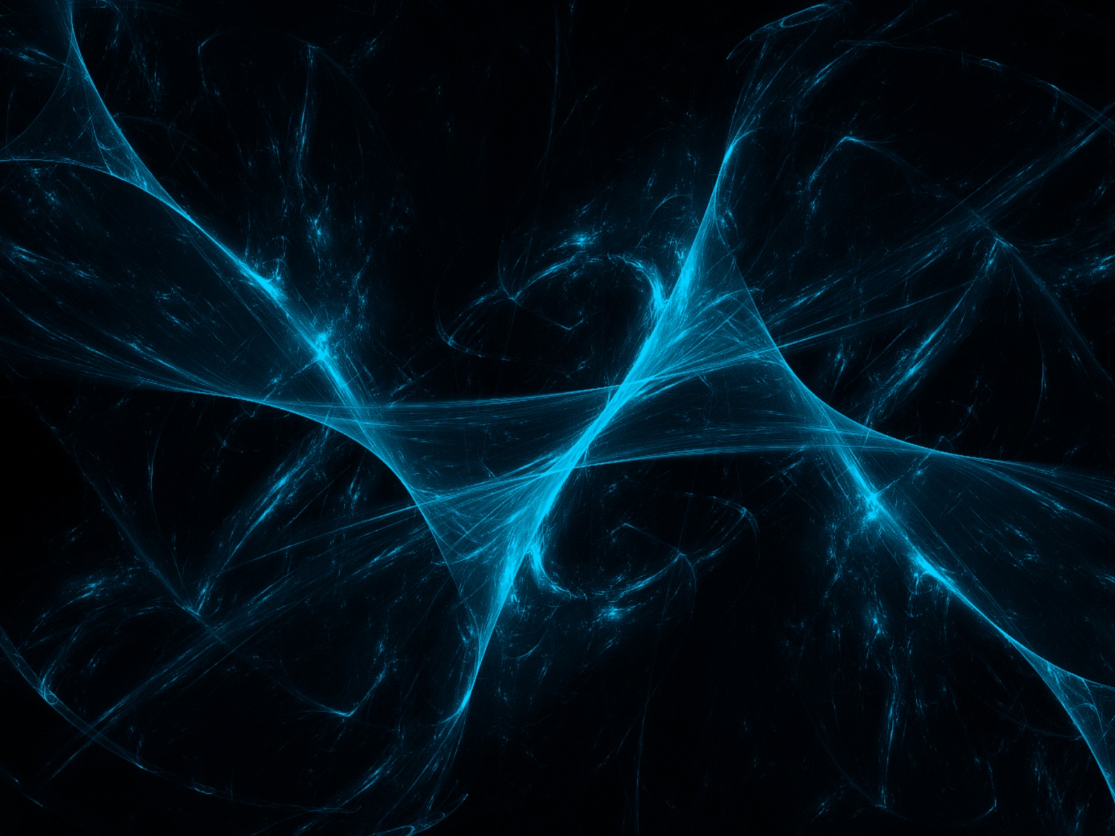 click to free download the wallpaper--Free Abstract Background, Blue and Lighted Up Net on Black Background, is Impressive Photo 1600X1200 free wallpaper download