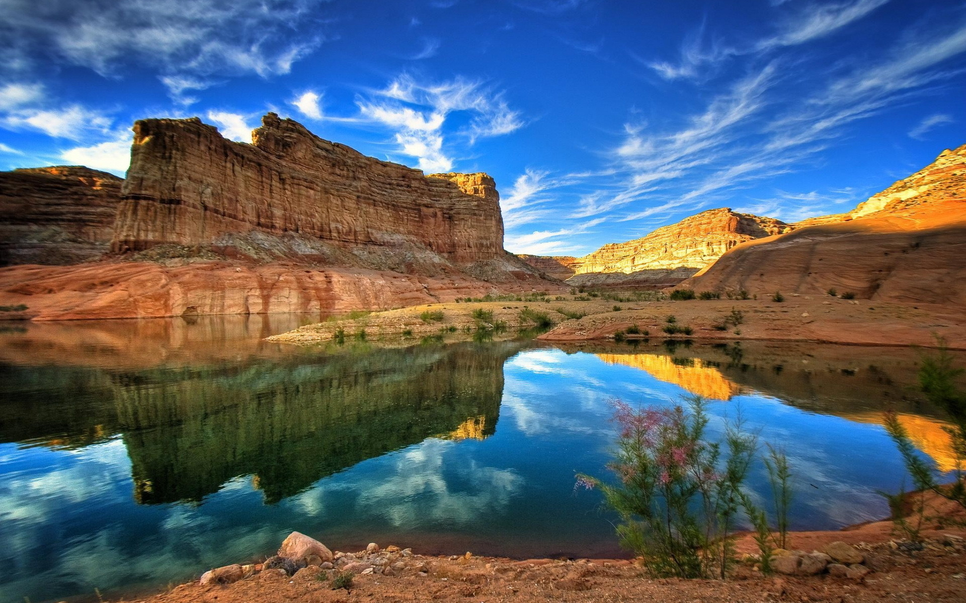 free download natural scenery wallpaper of canyon