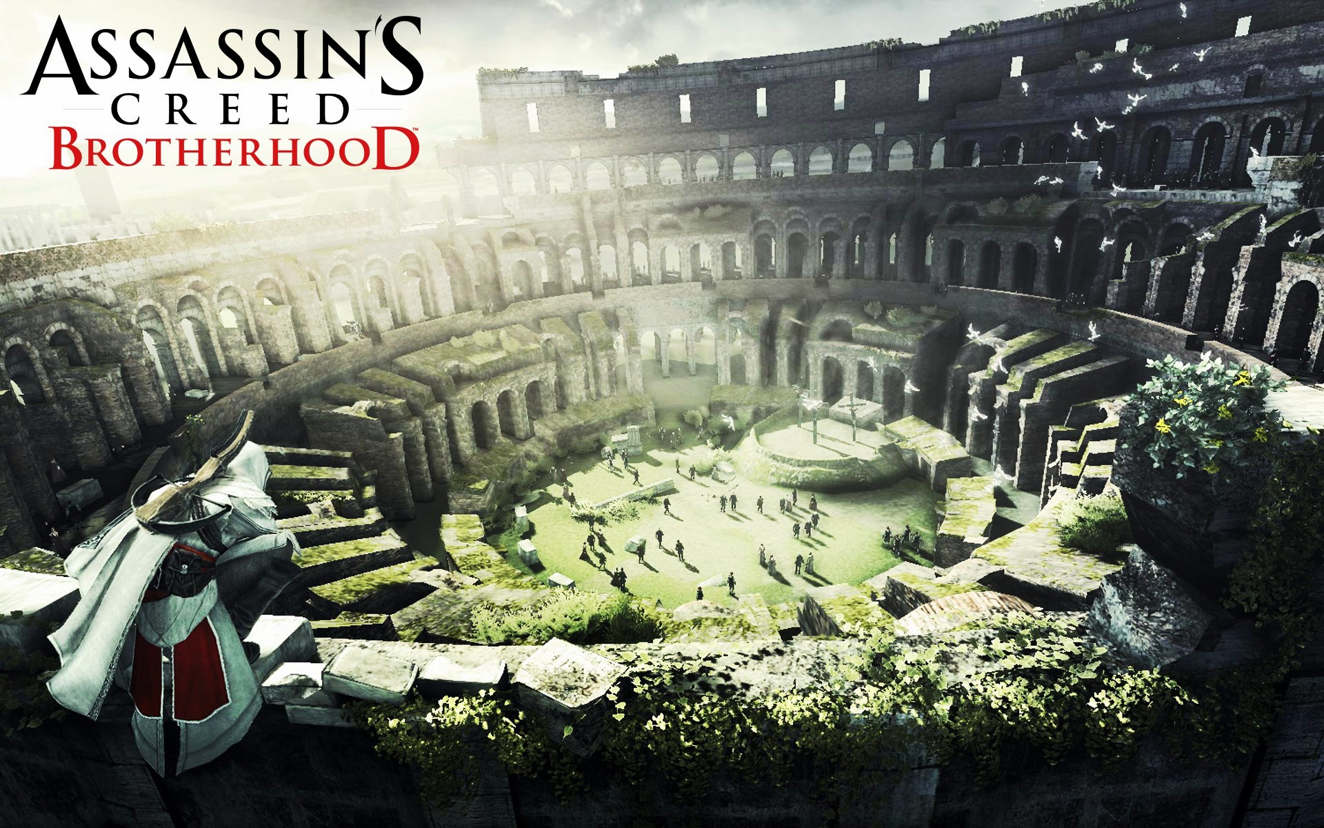 click to free download the wallpaper--Free Download TV & Movies Post - Assassin's Creed Brotherhood in Pixel of 1920x1200, All Men Are Brothers 1920X1200 free wallpaper download
