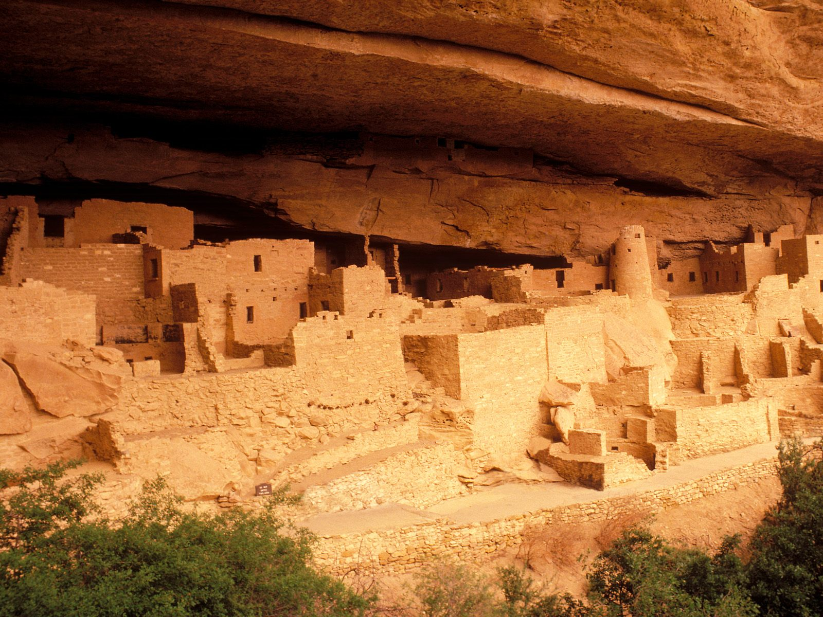Free Scenes of the World, Anasazi Ruins, Protect Them So You Can Enjoy Longer 1600X1200 free wallpaper download
