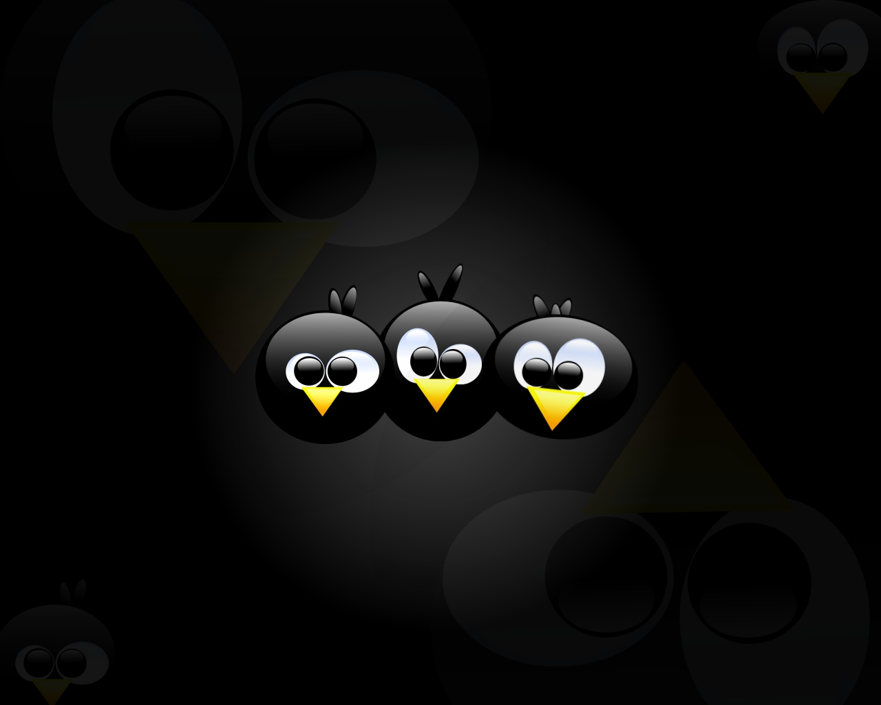 Free Wallpaper Includes Three Angry Birds Fun And
