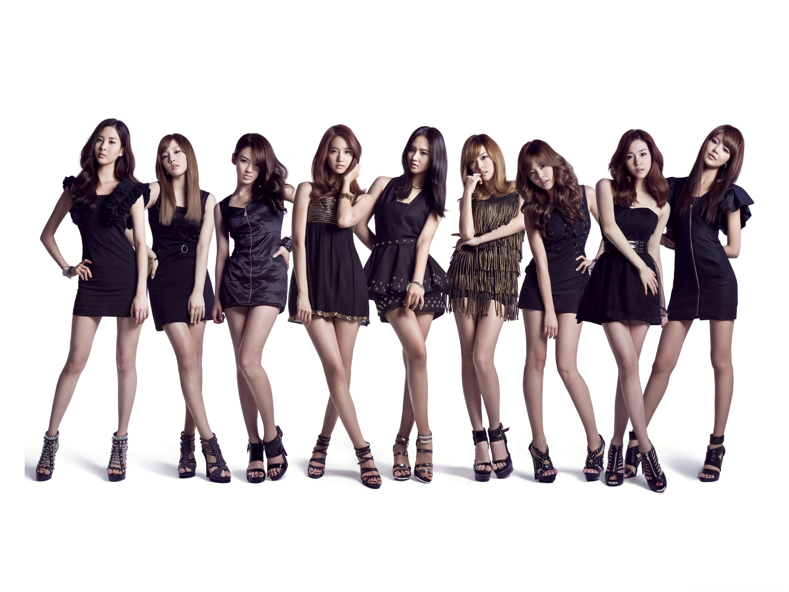 click to free download the wallpaper--Girls Generation Poster, Tall and Appealing Teammates, Well-Liked Group 3200X2400 free wallpaper download