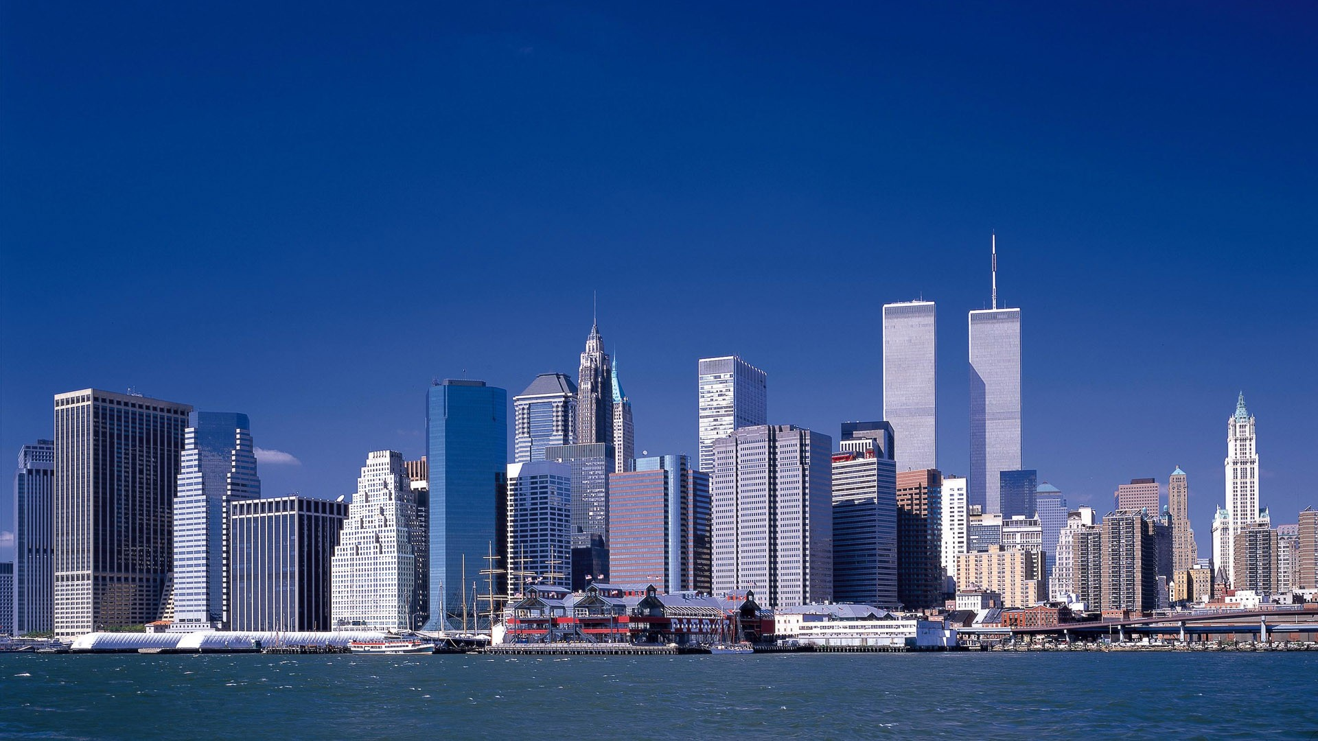 Includes new york twin towers differing in height overall harmony is