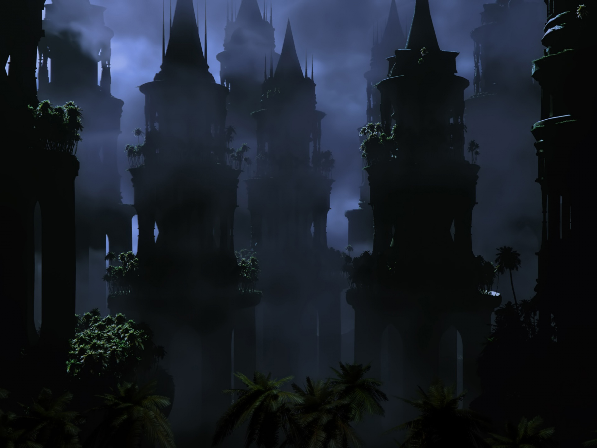 click to free download the wallpaper--Photos of Natural Scene, Abandoned Place, Dark and Depressing Scene, is Indeed Impressive 1920X1440 free wallpaper download
