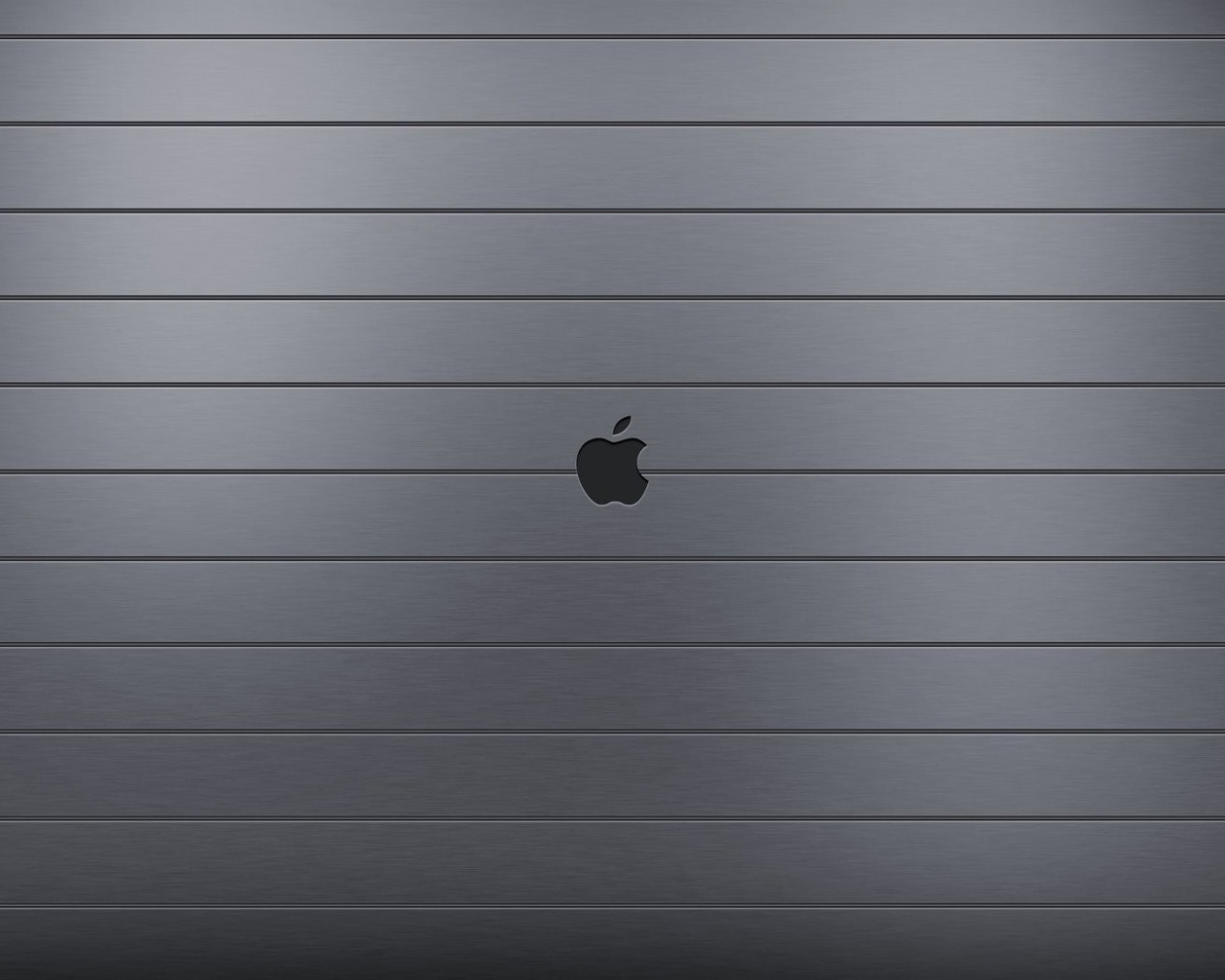 click to free download the wallpaper--Pics of Apple Logo, Apple on Metal, Crossed Straight Lines, is Impressive and Wide in Use 1280X1024 free wallpaper download