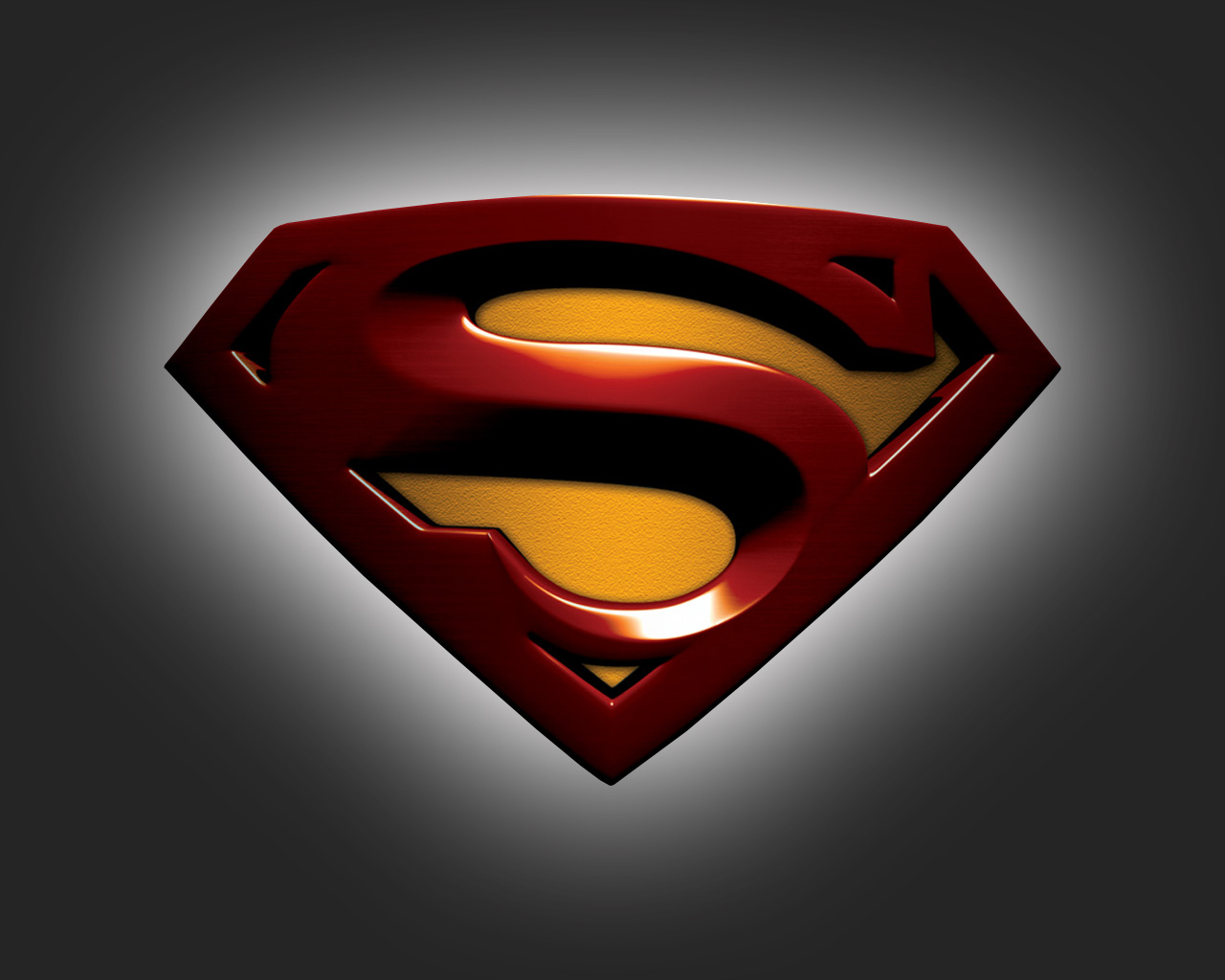 Black And Red Superman Logo Wallpaper The Red Superman Logo is Put