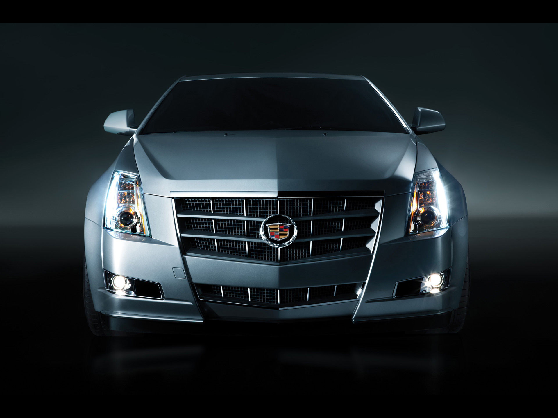 click to free download the wallpaper--Super Cars Image of Cadillac CTS Coupe, Studio Front, Everything is Just Perfect 1920X1440 free wallpaper download