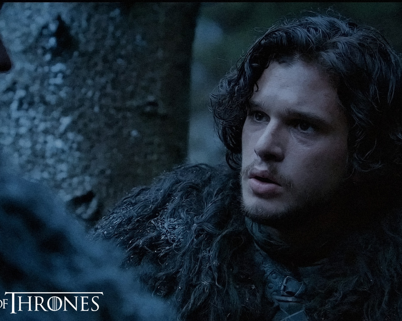click to free download the wallpaper--TV & Movies Poster, Jon Snow, Game of Thrones, the Guy is Handsome and Attentive