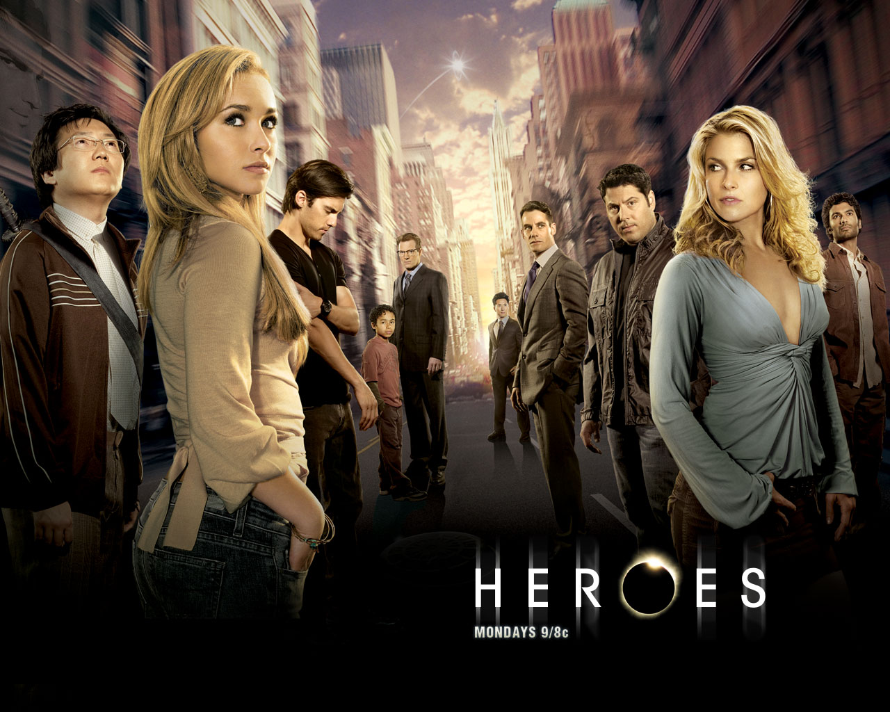 click to free download the wallpaper--TV Series Wallpaper, Heroes Season 2, a More Challenging Task is Assigned