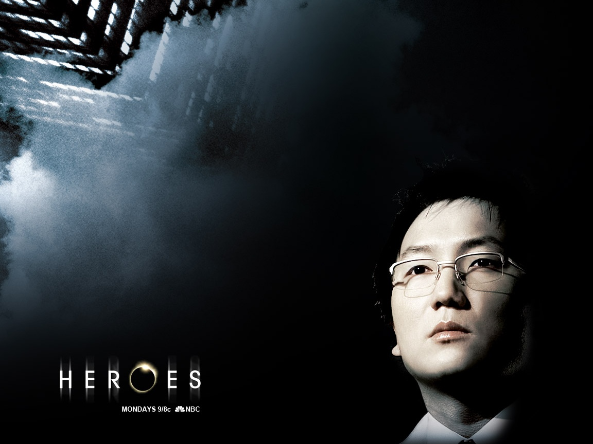 click to free download the wallpaper--TV Series Wallpaper, Hiro Nakamura in Heroes, the Guy Can Pass Through Times as He Wishes