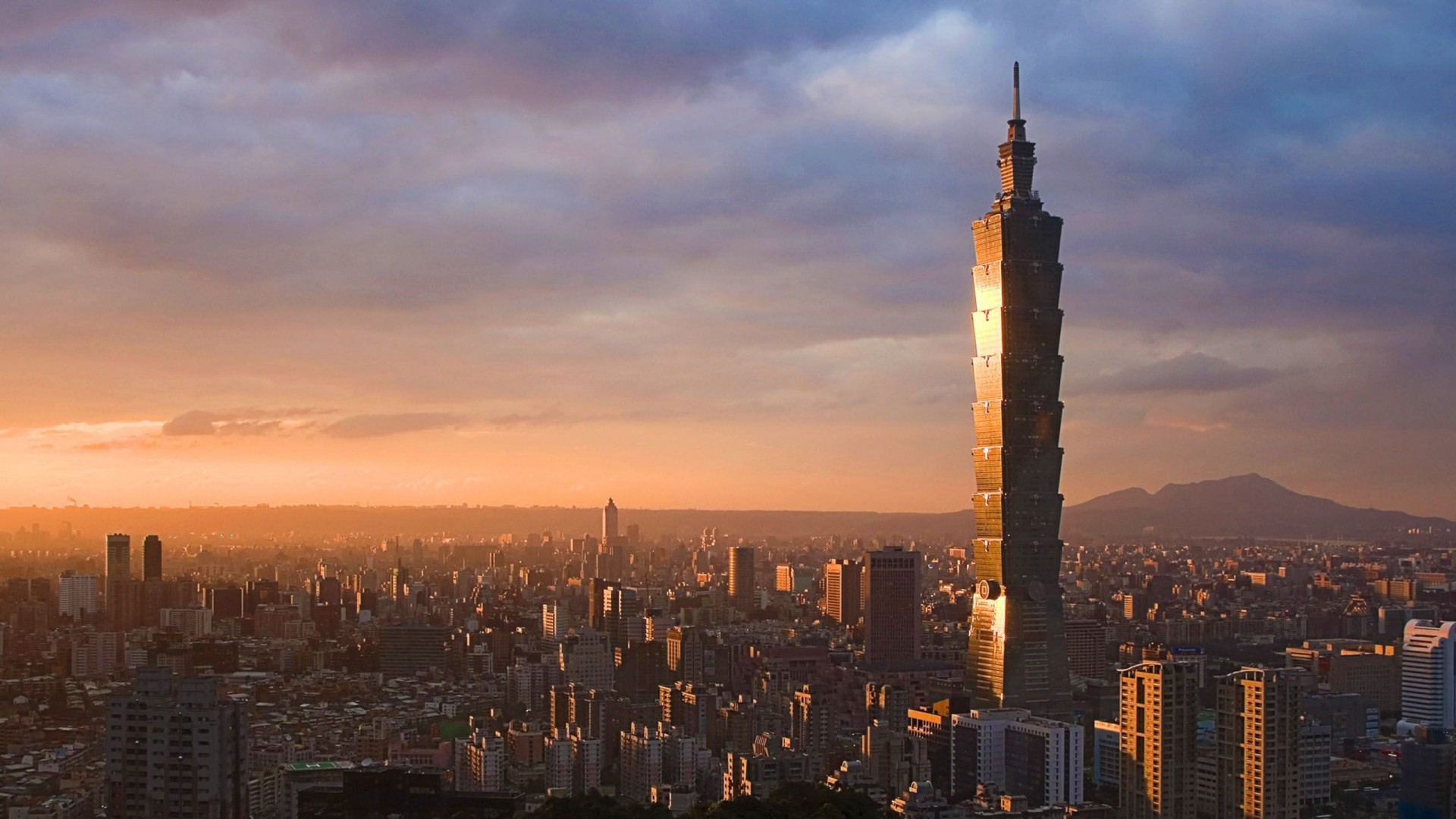 click to free download the wallpaper--Taipei 101 Photography Album 1920X1080 free wallpaper download