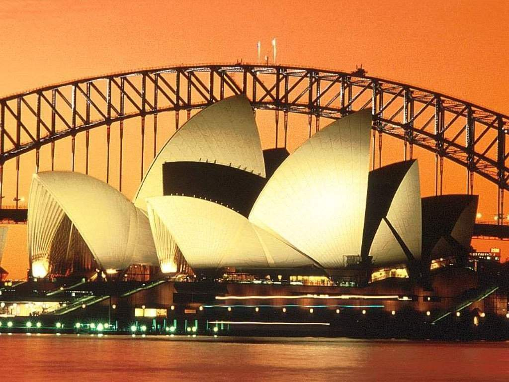 Sydney opera house free wallpaper world for Sydney opera housse
