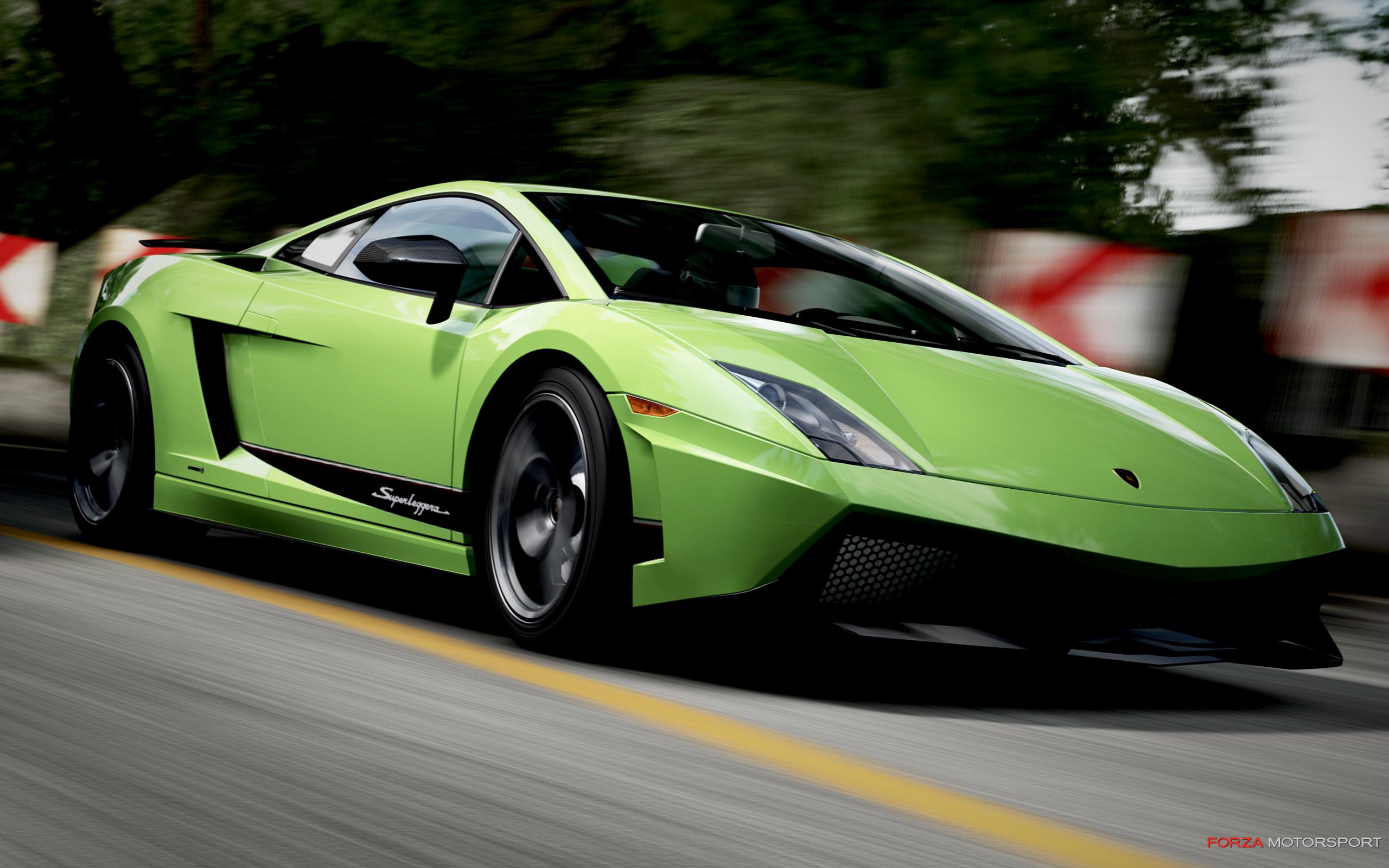 Free wallpaper of fine sports car lamborghini gallardo click to