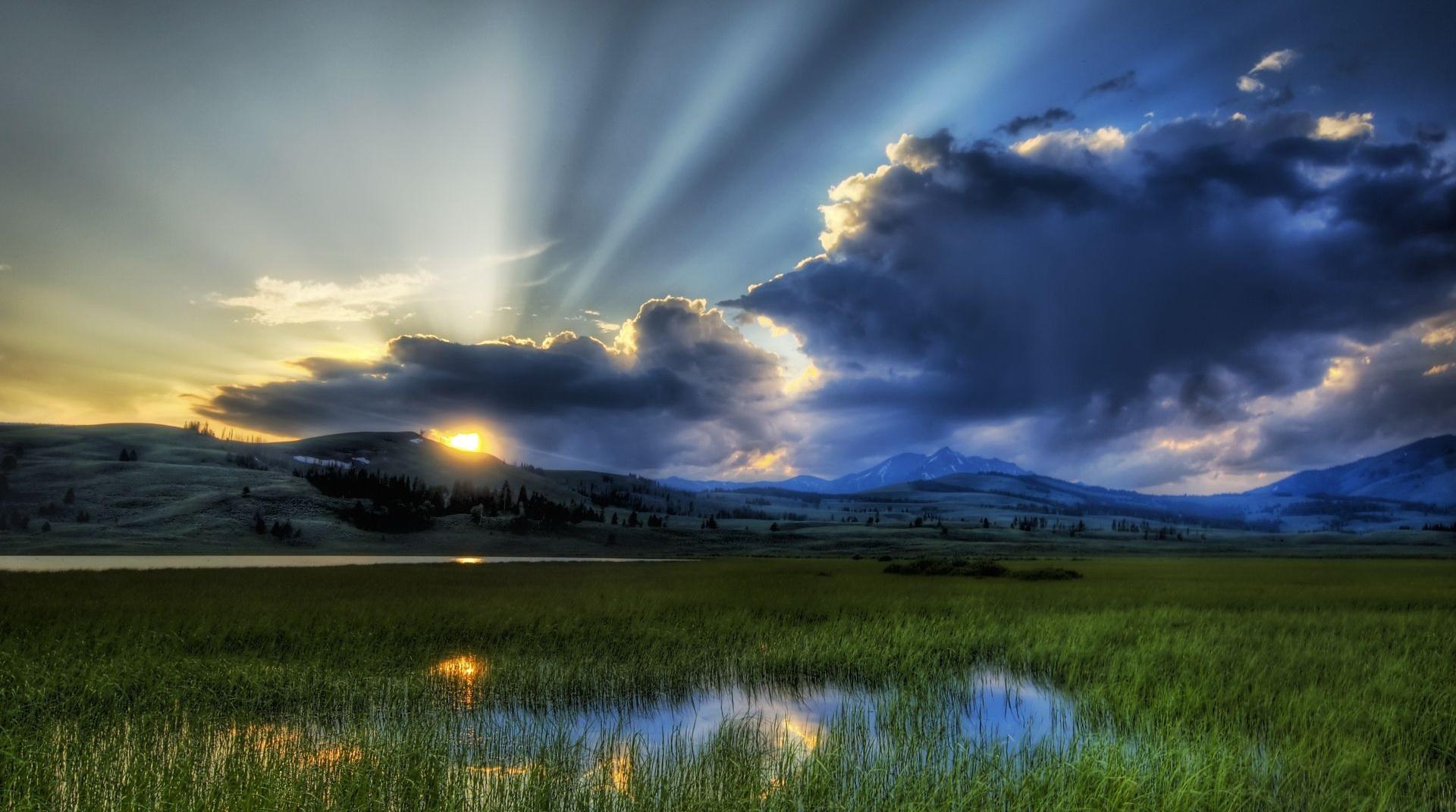 bright landscape wallpaper - photo #16