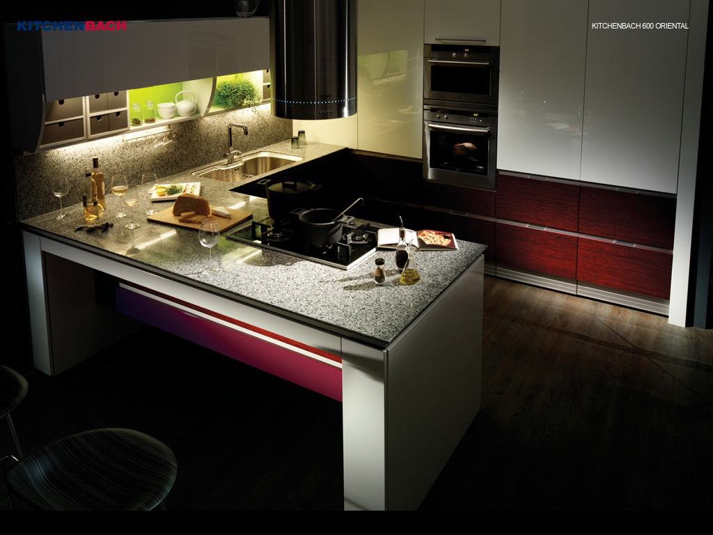 modern kitchen wallpaper download - photo #24