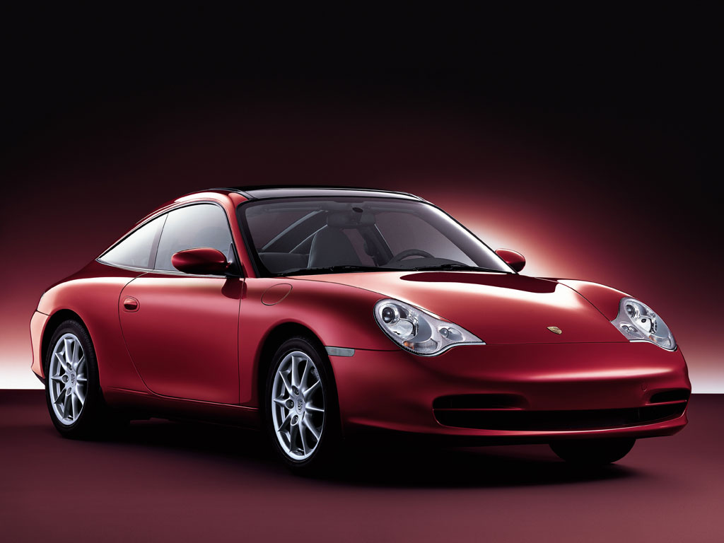 wonderful wallpaper: a red Porsche sports car ,click to download