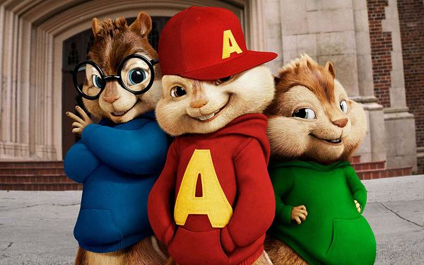 click to free download the wallpaper--2010 Alvin and the Chipmunks Squeakquel Post in 1920x1200 Pixel, the Squeakquels Are Cute and Naughty, is Fun and Good to Look at - TV & Movies Post