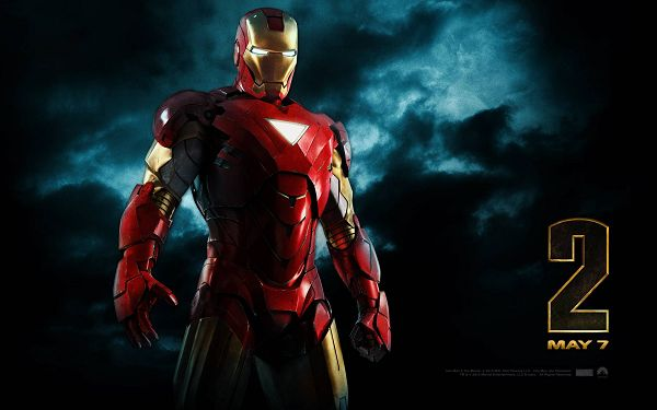 click to free download the wallpaper--2010 Iron man 2 Post in 1920x1200 Pixel, the Man All on His Own in Standing, You Bet He is Hard to Beat - TV & Movies Post
