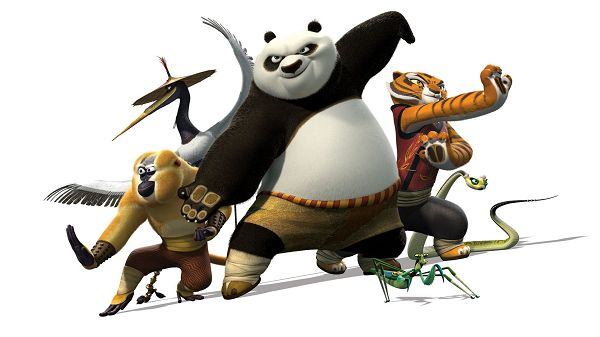 2011 Kung Fu Panda Post in 1920x1080 Pixel, All Guys in Master Pose, They Must be Hard to Beat, Don't Fight Against Them - TV & Movies Post