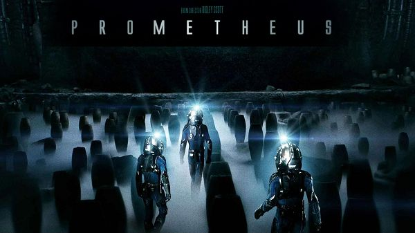 click to free download the wallpaper--2012 Prometheus in 1920x1080 Pixel, Robots Walking Toward a Smokey Place, Tomb-Like, Is Everything All Right? - TV & Movies Wallpaper 2012 Prometheus