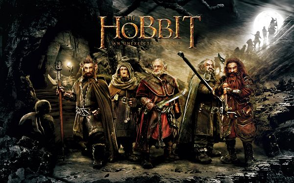 click to free download the wallpaper--2012 The Hobbit An Unexpected Journey in 1920x1200 Pixel, A Group of Short and Powerful Guys, Shall Look Good on Various Devices - TV & Movies Wallpaper
