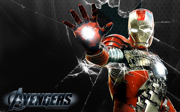 2013 3D Film Posters, Iron Man by Skstalker, Broken Glass by His Hand