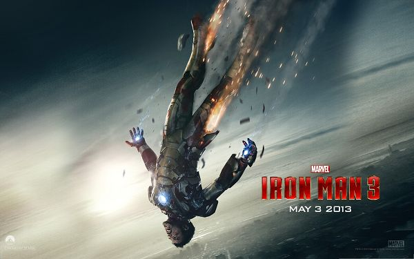click to free download the wallpaper--2013 Best Film Wallpaper, Iron Man 3, the Tough Man Finally Falls