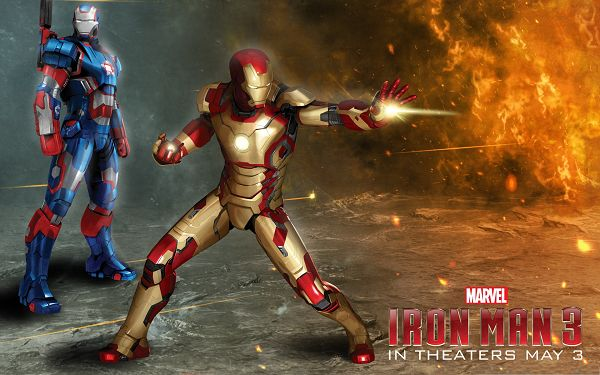2013 Free 3D Films, Iron Man 3 in the Firing World, Ready to Fight