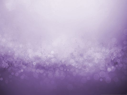 click to free download the wallpaper--3D Computer Background, Purple Bubbles in Bokeh Effect