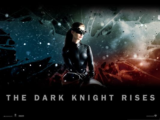click to free download the wallpaper--3D Free Movie Posts, Catwoman in the Dark Knight Rises, Sexy and Hot