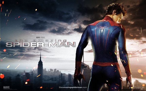 click to free download the wallpaper--3D Movies Wallpaper, The Amazing Spider Man, Turning His Back