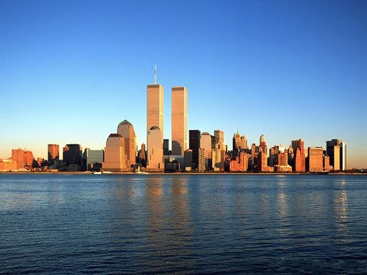 click to free download the wallpaper--9.11 Recall the Twin Towers
