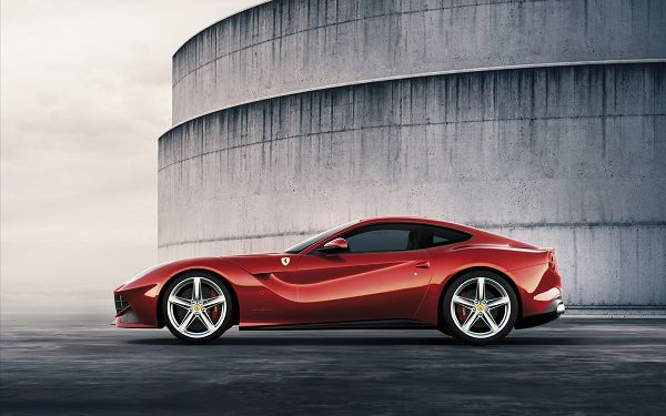 A Red Ferrari Car, You Can Expect Great Speed and Usability, Has to be Well-Liked and Popular -  Ferrari Car Wallpaper