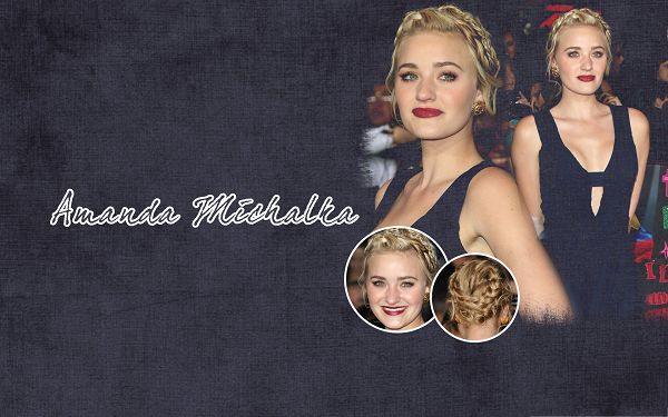 click to free download the wallpaper--Actress Pictures Hot, Amanda Michalka in Special Festivities