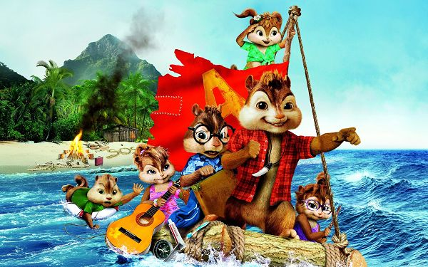 Alvin and the Chipmunks 3 2011 in 1920x1200 Pixel, Cute Guys All on a Ship, They Shall be Safe and Protected - TV & Movies Wallpaper