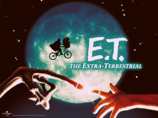 click to free download the wallpaper--Amazing Poster of TV Shows, E.T. the Extra Terrestrial, Unusual Journey and Experience