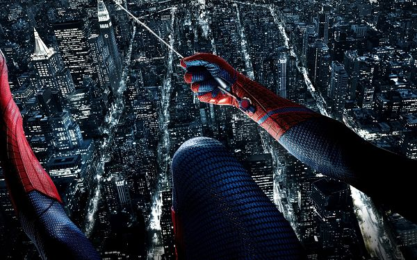 click to free download the wallpaper--Amazing Spider Man in 1920x1200 Pixel, Quite a Glamorous Man, Does Everything to Punish the Evil, With Him, People Are Safe - TV & Movies Wallpaper