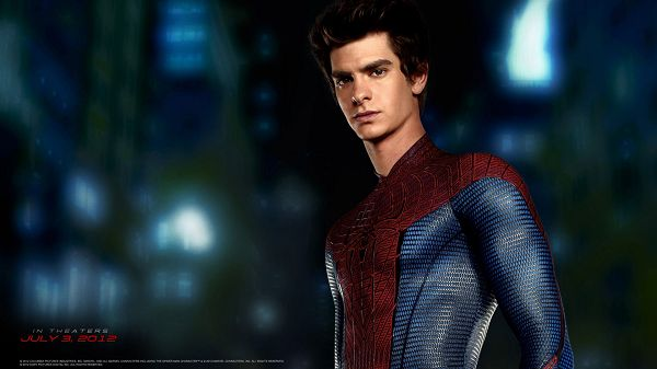 click to free download the wallpaper--Andrew Garfield in Amazing Spider Man in 1920x1080 Pixel, a Handsome and Fit Guy, Shall Look Good on Various Devices - TV & Movies Wallpaper