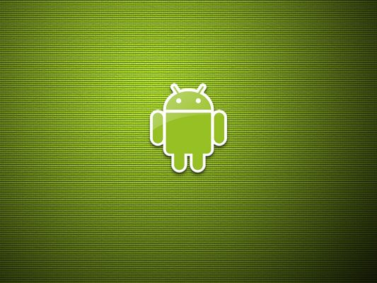 click to free download the wallpaper--Android Brand Post, the Green Little Robot is Indeed Smart, He is Quite Helpful and Representative