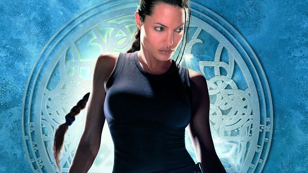 click to free download the wallpaper--Angelina Jolie as Lara Croft in 1920x1080 Pixel, It Shall Never Happen that the Lady Fails to Attract Men's Attention - TV & Movies Wallpaper