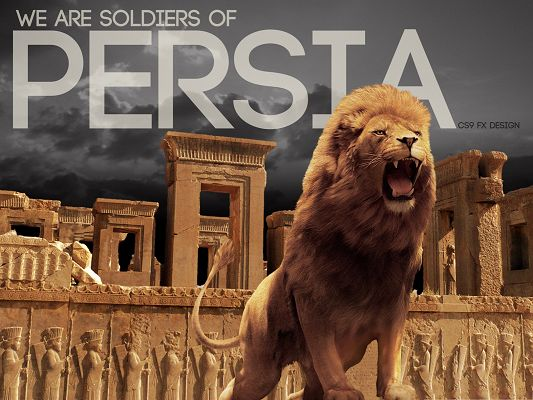 click to free download the wallpaper--Animals Wallpaper HD - We Are Soldiers of PERSIA, And We Are Unbeatable
