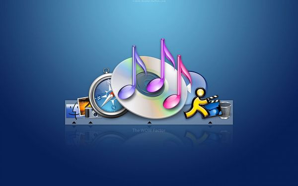 Apple MAC iTunes HD Post in Pixel of 1680x1050, All Dancing Disks and Tunes, They Shall Add Liveliness to Your Device - TV & Movies Post