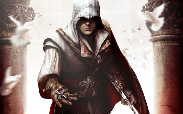 click to free download the wallpaper--Assassin's Creed II Post in 1920x1200 Pixel, Alone As the Man is, He is Indeed Hard to Beat, Someone You Should Keep Away from - TV & Movies Post